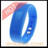 Incoming Phone Call Vibrating Alert Device Bluetooth Bracelet for Mobile Phones - Blue