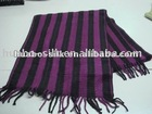 silk throw with fringes