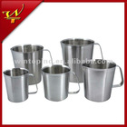 5 size stainless steel measuring cup
