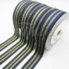 Polyester Gold Combination Petersham Wide Ribbon