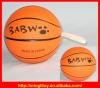 Hot-selling Customized 14cm Basketball Stress Reliever