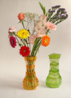 PVC Foldable flower vase