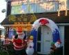 Light Inflatable Santa Claus