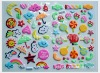 wall decorative puffy stickers