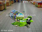 3D sticker for 2013 advertising and decorating idea