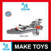 intelligence 3D building block toys of ships from puzzle toys manufacturer