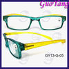 Humanized design Silm Flexible plastic reading glasses for men