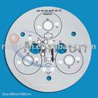 Round aluminium based PCB