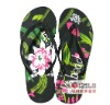 lady coloflul pvc beach slipper