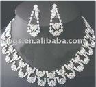 Wedding bridal necklace earring sets