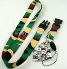Camo sublimation printing nylon lanyards