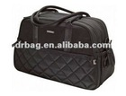 Hot Sell Carry All Black with Gunmetal Diaper Bag
