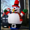 Newest & Lively christmas inflatable snowman SMB5