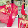 Sweetheart Neckline Beaded Applique Side Zipper Floor Length Chiffon Girls Pageant Dresses