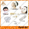 Facial set for beauty