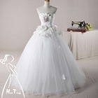 Newest fashionable real wedding dress 2012