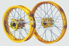 pit bike alloy wheel assy