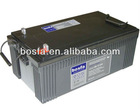 GB12-230 12v230ah lead acid rechargeable battery 12v 230ah high storage battery
