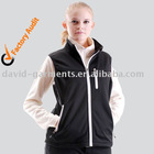 Lady's softshell casual vest