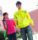 OEM fashion design high quality unisex cotton sportswear coat