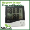 HyGRO Meter Hygrometer for Grow Tent Room THERMOMETER Hydroponics