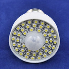 AC85-260V, 3.5W, White/warm white, E27 lamp Base, Pir Sensor LED Bulb Light