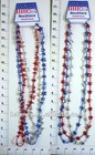 US FLAG PLASTIC NECKLACE