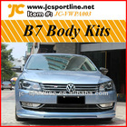PU B7 Body Kits For Passat(Front Bumper Side skirts Rear Bumper Diffuser)