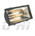 Infrared Patio Heater with Golden Plated heating lamps