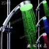 Head Light LED Polyester Shower Curtain