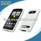 Premium White Silicone Gel Skin Cover Case for HTC Evo 4G(IMC-TOHTC-0300)