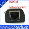 USB to Ethernet adapter , USB to lan port adapter, 1000M lan card