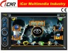 (iCar-6218)HOT Double Din 6.2'' touch screen,GPS,Bluetooth,TV,IPod cars dvd player