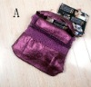 lady's elegant fashion bag ,withPU leather handbag [cb020101]