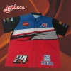 new sublimation Racing jerseys with 100% polyester