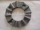 Graphite thrust bearing