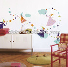 removable non-toxic fairy wall sticker wholesale