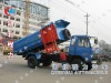 Dongfeng 145 detachable container garbage truck