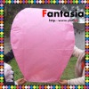 2012 Still HOT SALE 100% Biodegradable Pink Paper Sky Lantern