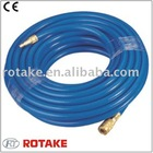 """PVC Hose with 1/4"""" Double Male Fitting RH-20401.1"""