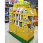 Used in supermaket and chain shop corrugated cardboard pallet display