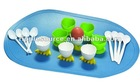 Plastic Microwave Steamed Egg Mould with Spoon