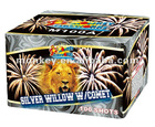 100 Shots silver willow with comet Cake Firework(M100A)