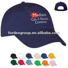 Promotional Transfer Imprint Twill Unstructured Baseball Cap with Pre-Curved Visor