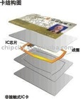 RFID card chip LRI2K: at 13.56 MHz 2048 bit EEPROM TAG IC