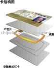 RFID card chip LRI2K: at 13.56 MHz 2048 bit EEPROM TAG IC