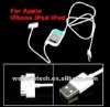 2 in 1 USB Data SYNC Charging converter Cable For iPhone ipad