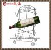 antique design metal wine red wine holder ,wine rack for 6 bottles