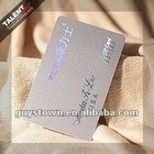 Supplier Pantone printed laser gold foil stamping VIP card