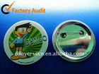 2011 Decorative Adhesive Metal Badge